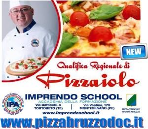 Qualifica Regionale PIZZAIOLO - Imprendo school Tortoreto Montesilvano Pescara Chieti - PIZZABRUZZODOC.IT