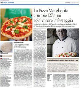 Festa Pizza Margherita su IL CENTRO del gIOVED