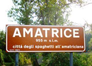 AMATRICE Città delgli Spaghetti all'Amatriciana
